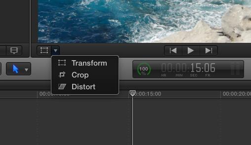 Trasform, Crop, Distort