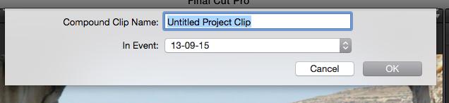 Compound Clip Name