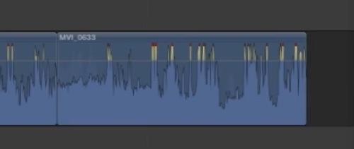 Visualizzazione Livelli Audio